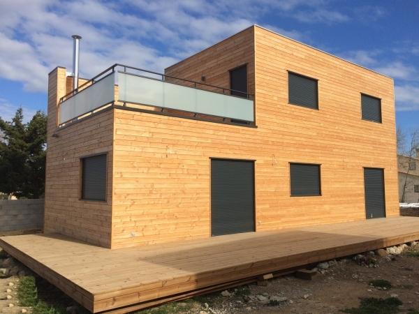 Maison la franqui septembre 2015 herault languedoc for Extension maison herault